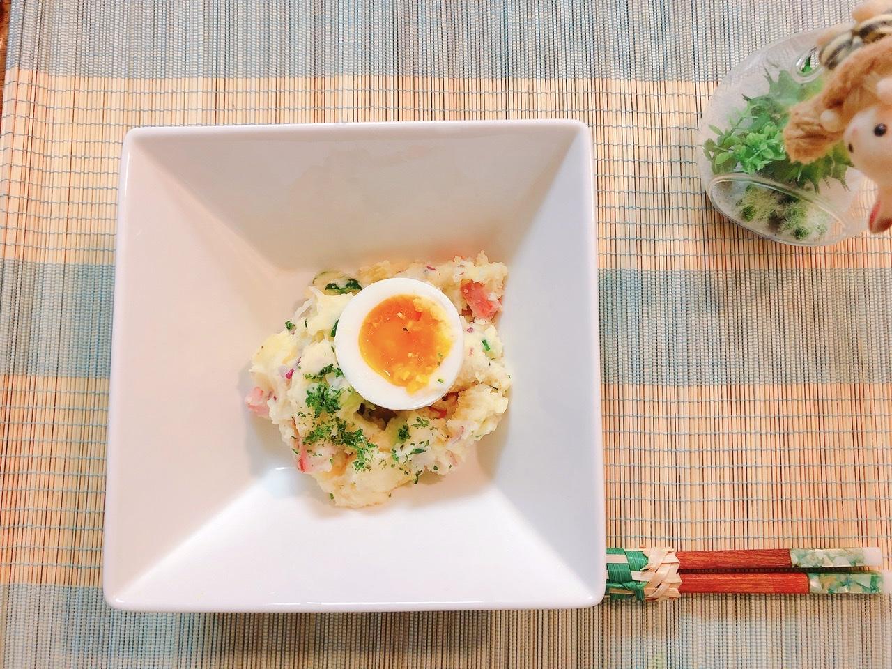 「【3月のライオン】あかりのポテトサラダを作ってみた!」のアイキャッチ画像