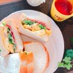【衛宮さんちの今日のごはん】週末ランチは菜の花とベーコンのサンドイッチで春を感じて