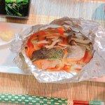 【衛宮さんちの今日のごはん】鮭ときのこのバターホイル焼きを作る!