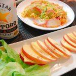 【侠飯】カマバターとリンゴチーズがすごく美味しかった件