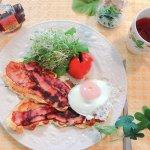 ベーコンストリップ【侠飯(おとこめし)】で、週末はお洒落で美味しいブランチを!
